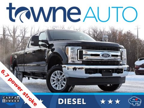 Pre-Owned 2019 Ford F-250SD XLT 4WD 4D Crew Cab