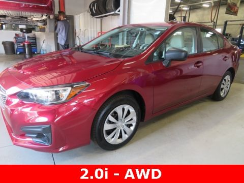 Pre-Owned 2019 Subaru Impreza 2.0i AWD 4D Sedan