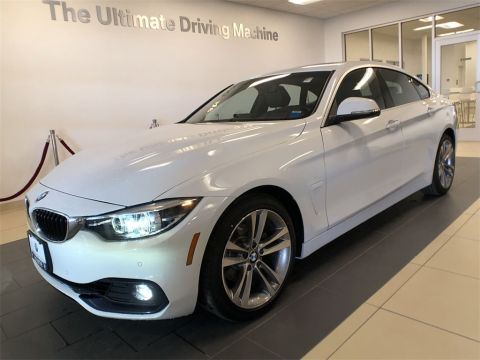 Pre-Owned 2018 BMW 4 Series 430i xDrive Gran Coupe AWD 4D Hatchback