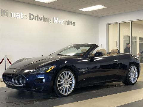 Pre-Owned 2015 Maserati GranTurismo Base RWD 2D Convertible